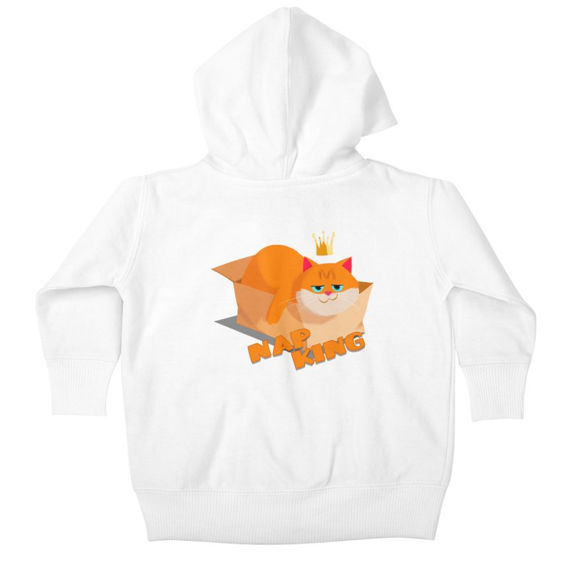 Nap King Kids Baby Zip-Up Hoody by Hosico's Shop