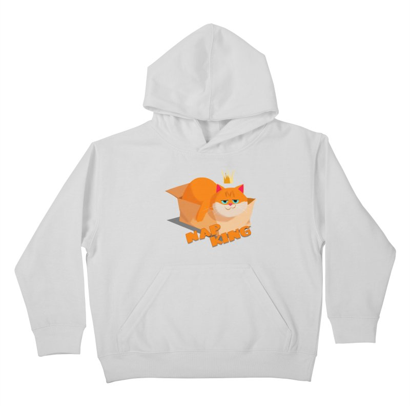 Nap King Kids Pullover Hoody by Hosico's Shop