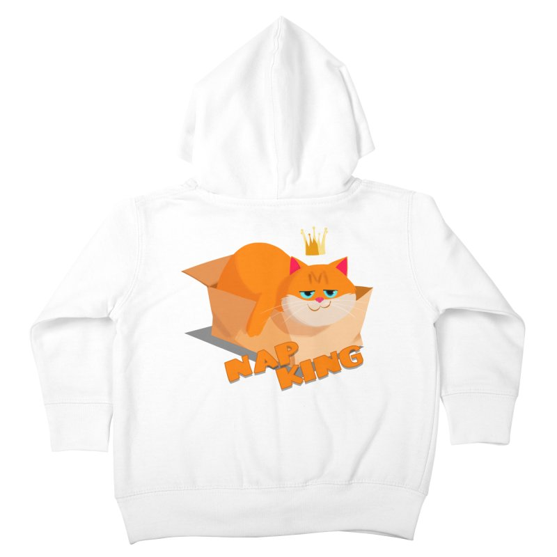 Nap King Kids Toddler Zip-Up Hoody by Hosico's Shop