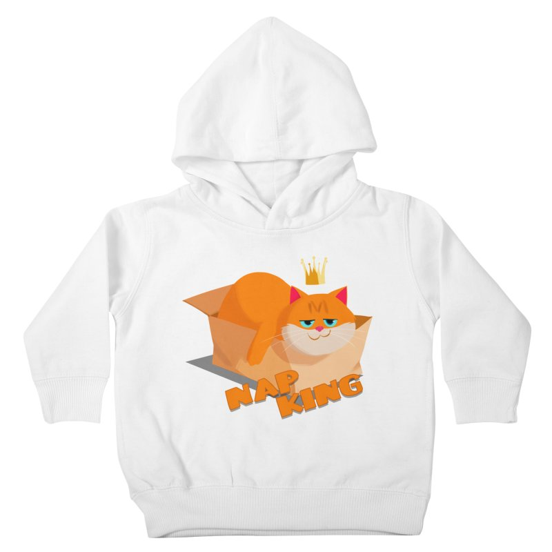 Nap King Kids Toddler Pullover Hoody by Hosico's Shop