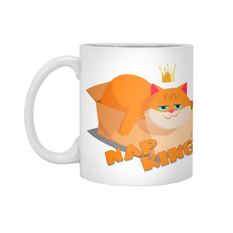 Nap King Accessories Mug by Hosico's Shop