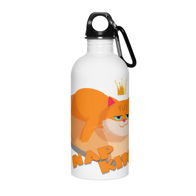 Nap King Accessories Water Bottle by Hosico's Shop