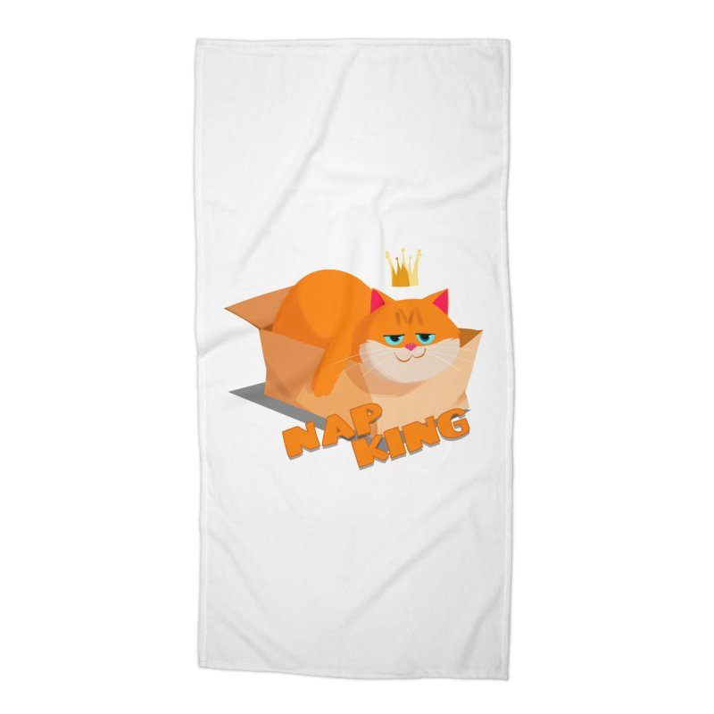Nap King Accessories Beach Towel by Hosico's Shop