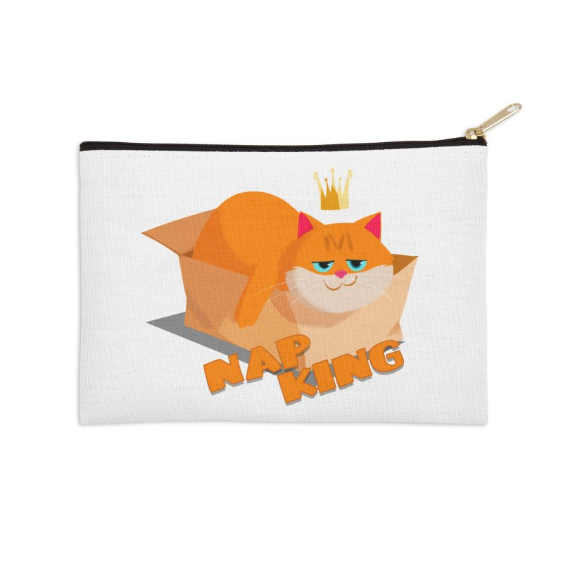 Nap King Accessories Zip Pouch by Hosico's Shop