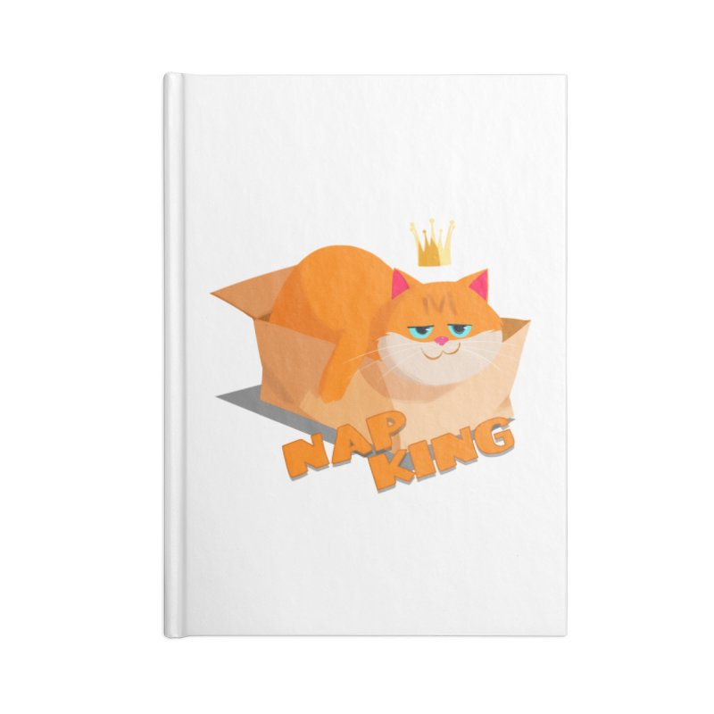 Nap King Accessories Notebook by Hosico's Shop