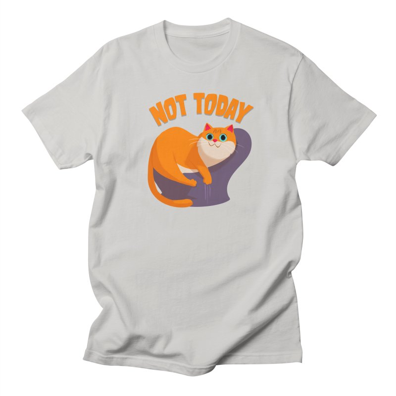 Not Today Men's Regular T-Shirt by Hosico's Shop