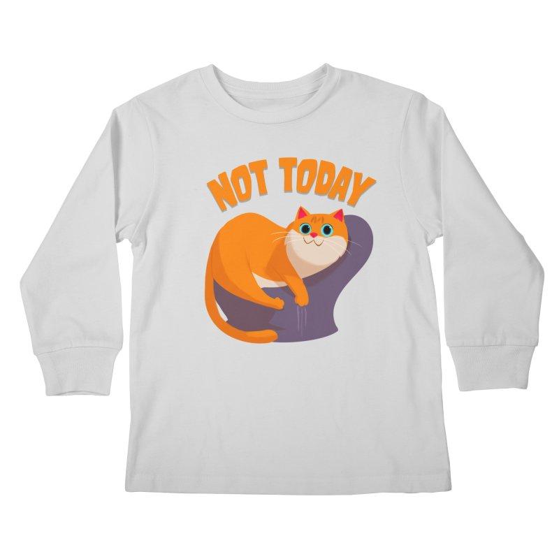 Not Today Kids Longsleeve T-Shirt by Hosico's Shop