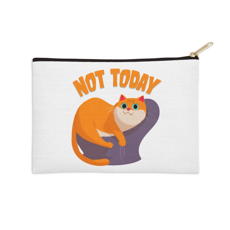 Not Today Accessories Zip Pouch by Hosico's Shop