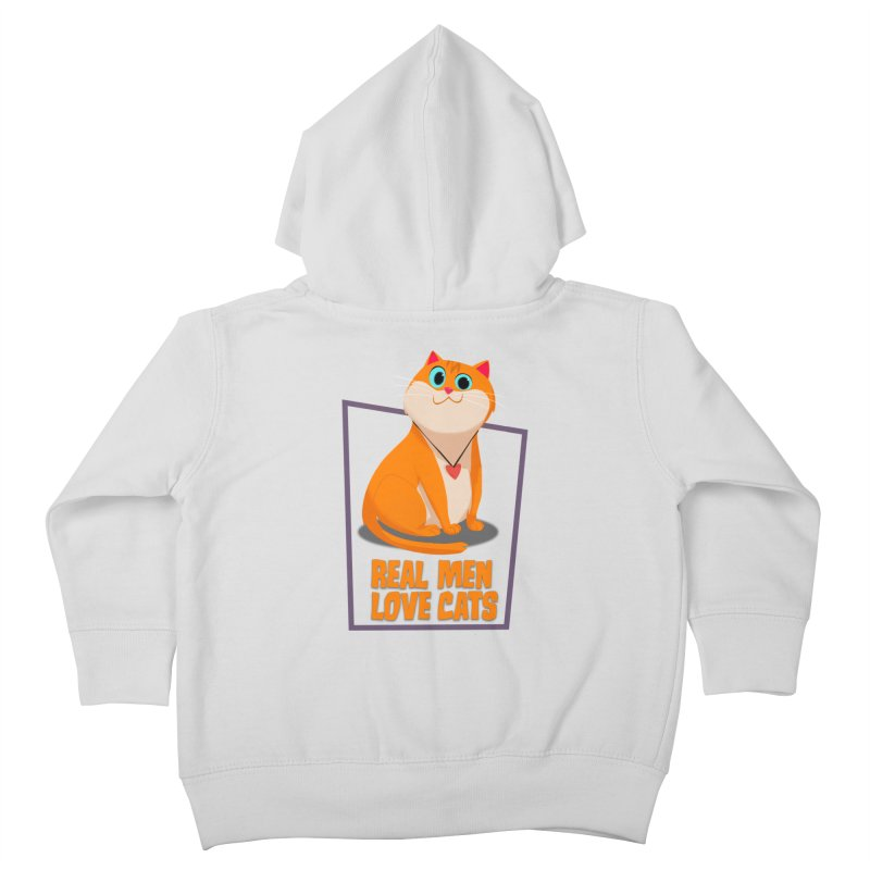 Real Men Love Cats Kids  by Hosico's Shop