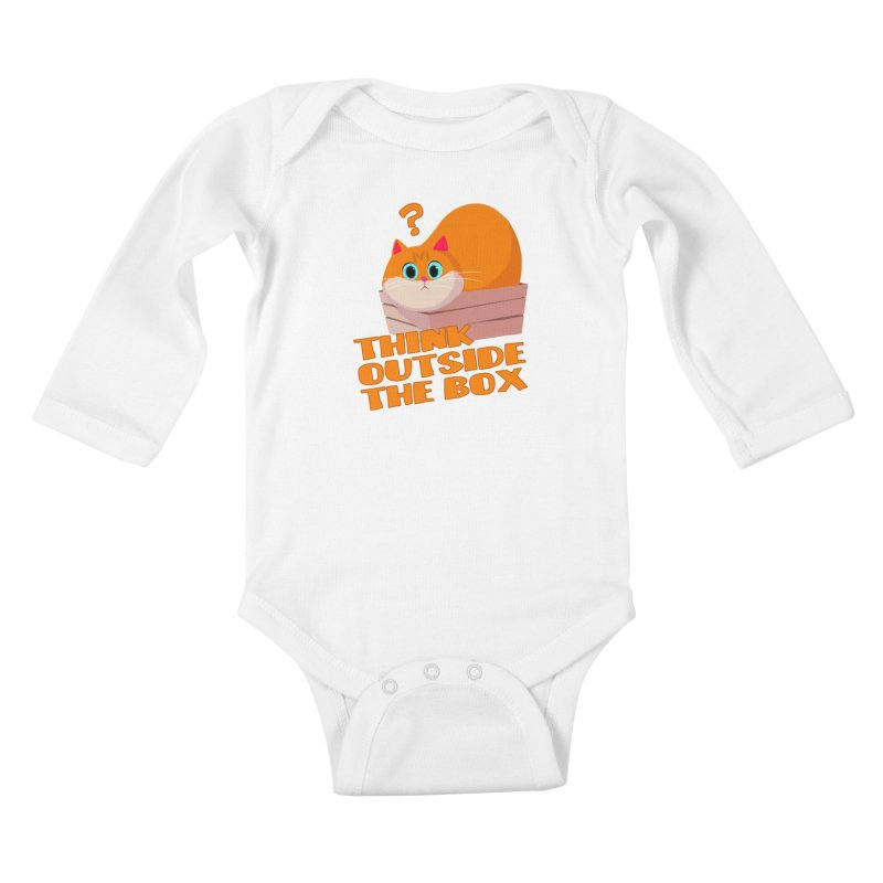 Think outside the Box? Kids Baby Longsleeve Bodysuit by Hosico's Shop