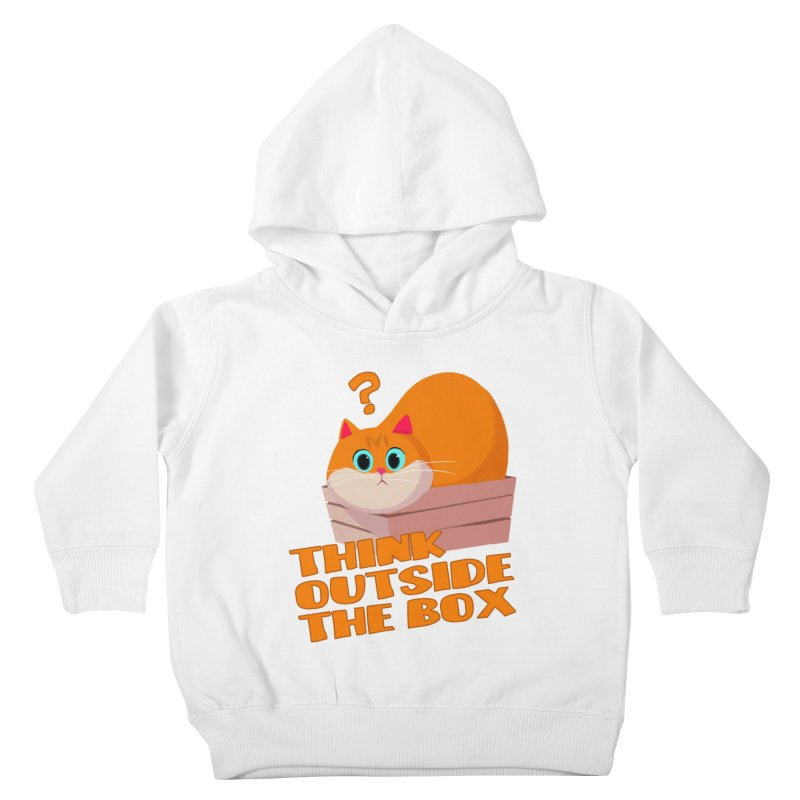 Think outside the Box? Kids Toddler Pullover Hoody by Hosico's Shop