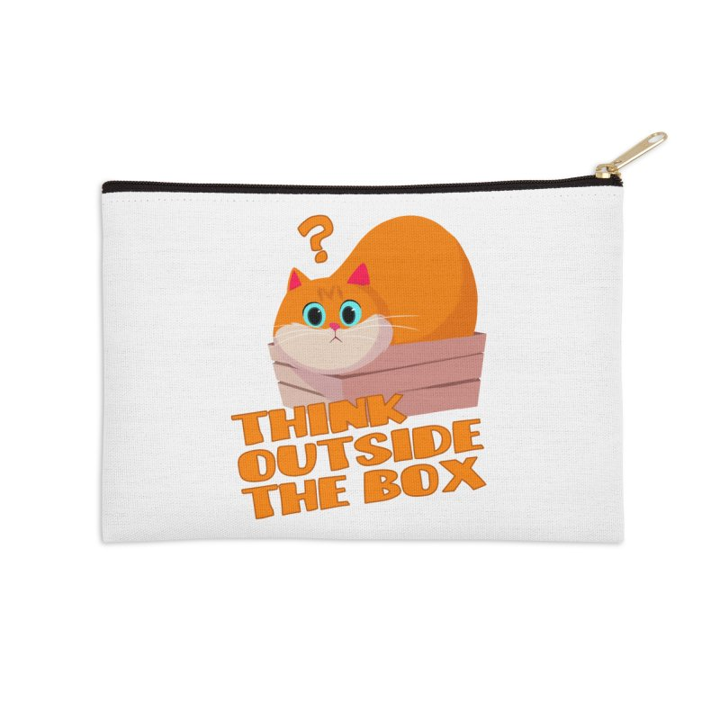 Think outside the Box? Accessories Zip Pouch by Hosico's Shop