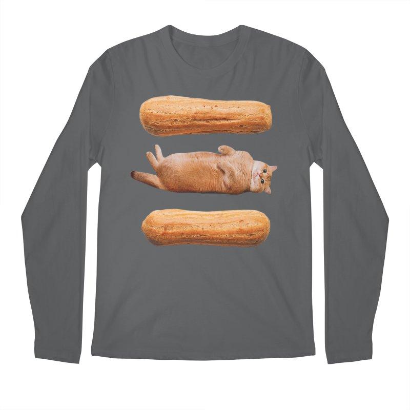 Hosico & Eclairs Men's Longsleeve T-Shirt by Hosico's Shop