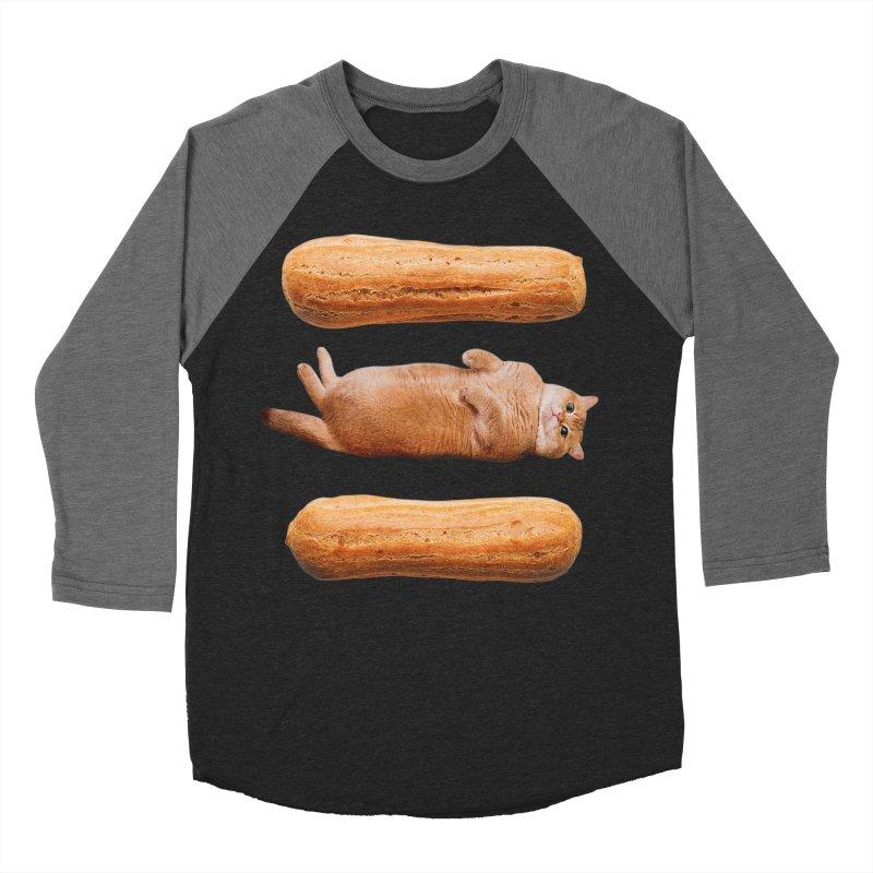 Hosico & Eclairs Men's Baseball Triblend Longsleeve T-Shirt by Hosico's Shop