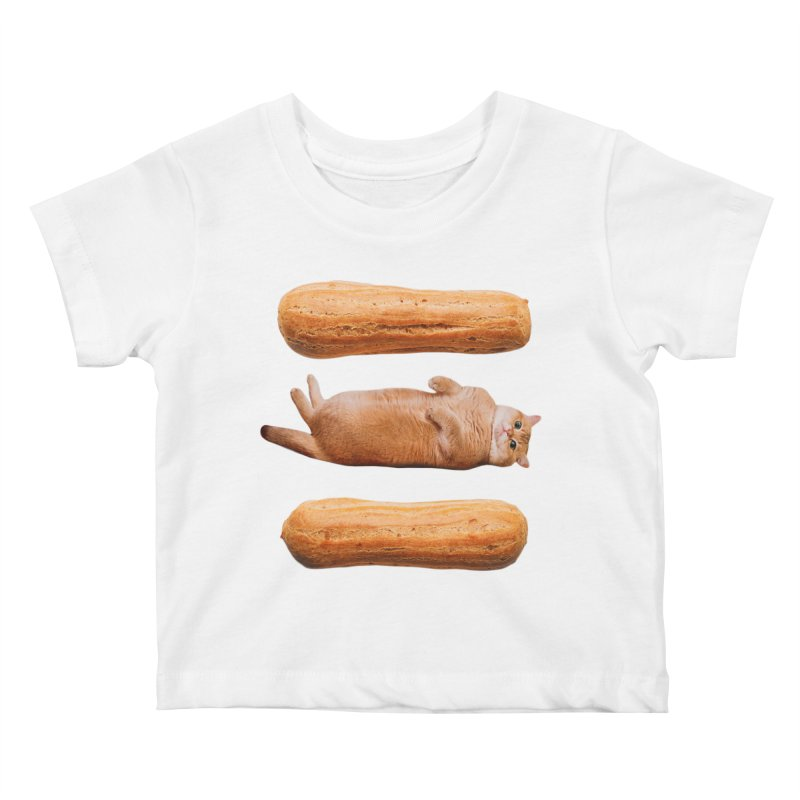 Hosico & Eclairs Kids Baby T-Shirt by Hosico's Shop