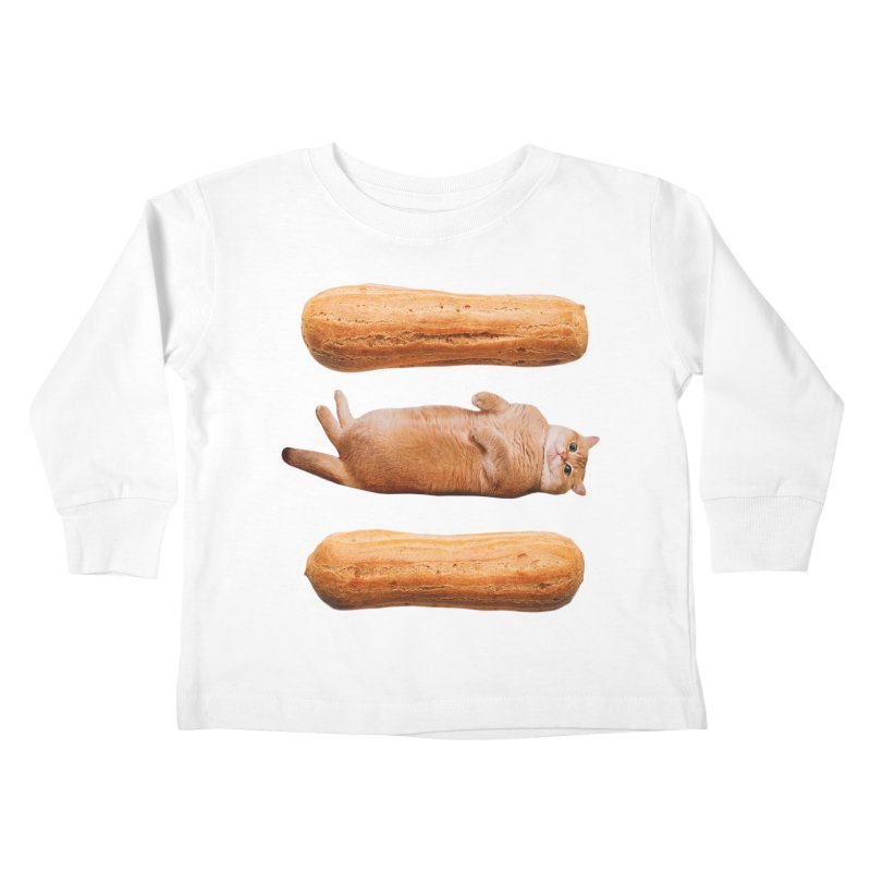 Hosico & Eclairs Kids Toddler Longsleeve T-Shirt by Hosico's Shop