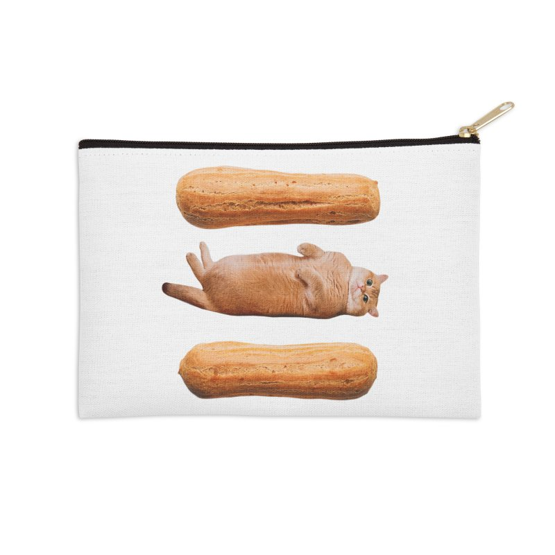 Hosico & Eclairs Accessories Zip Pouch by Hosico's Shop