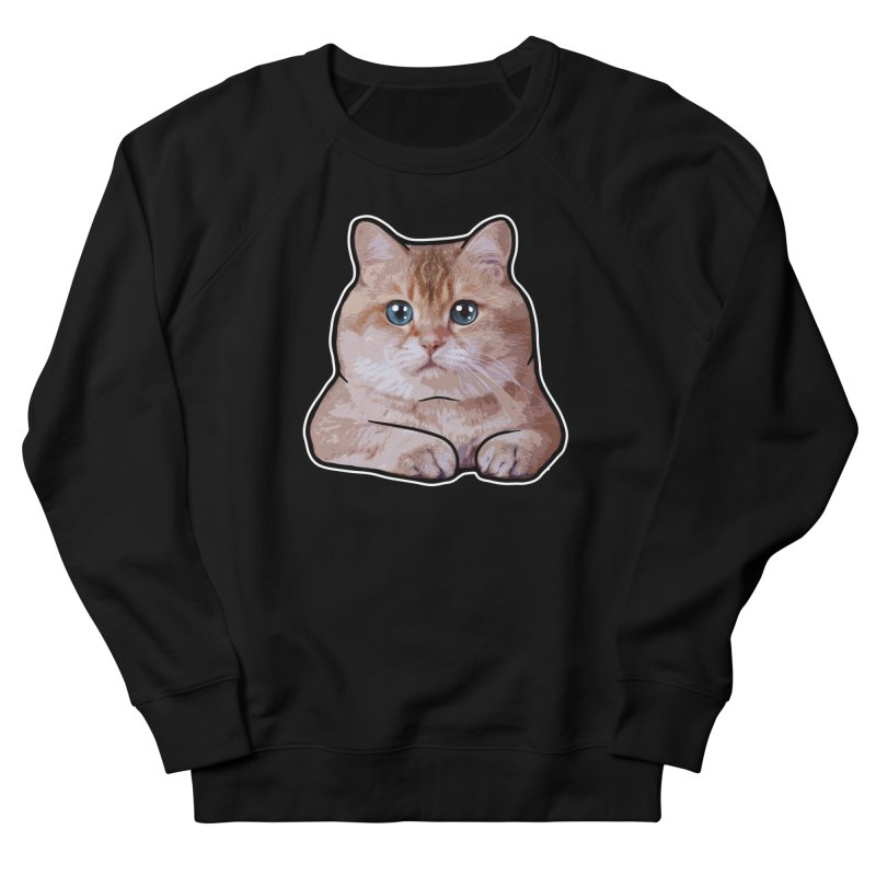 Hosico Cat Women's French Terry Sweatshirt by Hosico's Shop