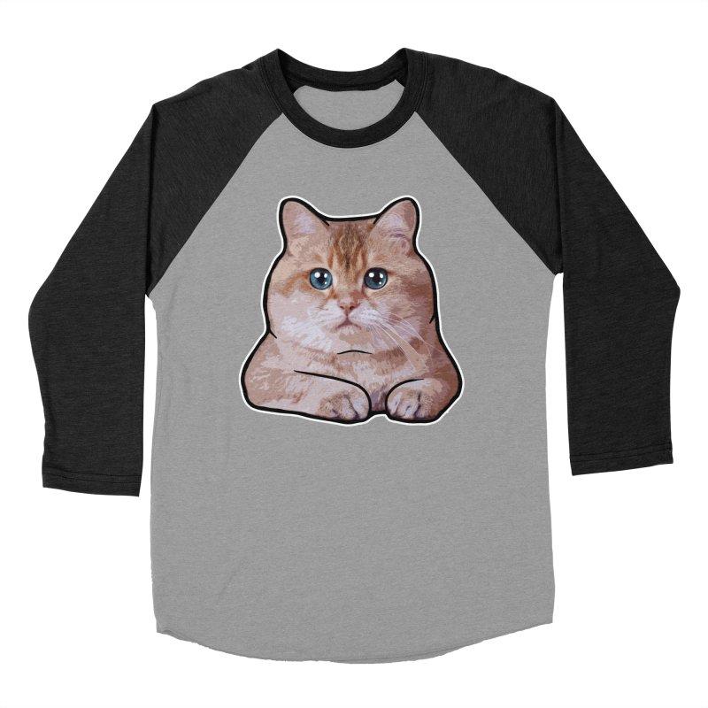 Hosico Cat Men's Baseball Triblend Longsleeve T-Shirt by Hosico's Shop