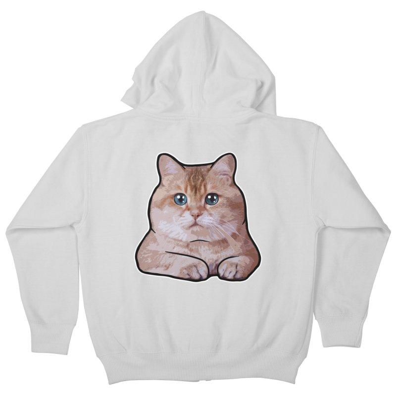 Hosico Cat Kids Zip-Up Hoody by Hosico's Shop