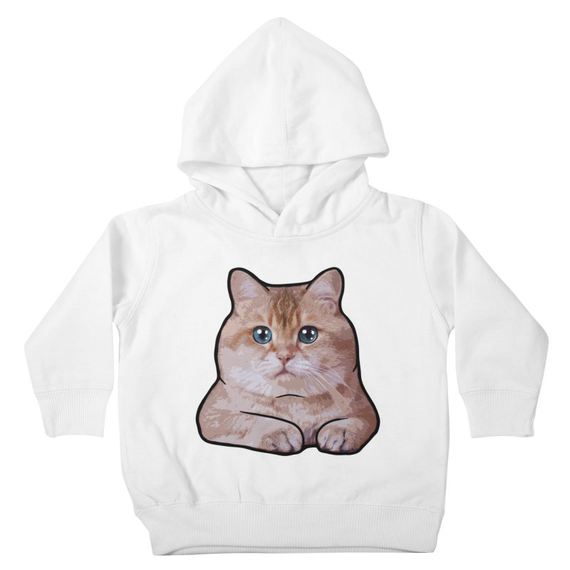 Hosico Cat Kids Toddler Pullover Hoody by Hosico's Shop