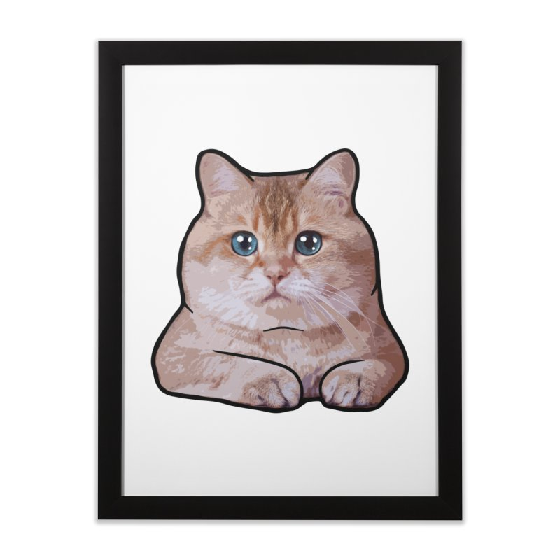 Hosico Cat Home Framed Fine Art Print by Hosico's Shop