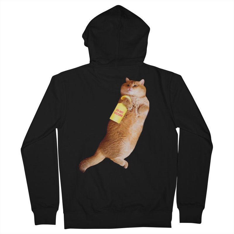 Do not disturb Men's Zip-Up Hoody by Hosico's Shop