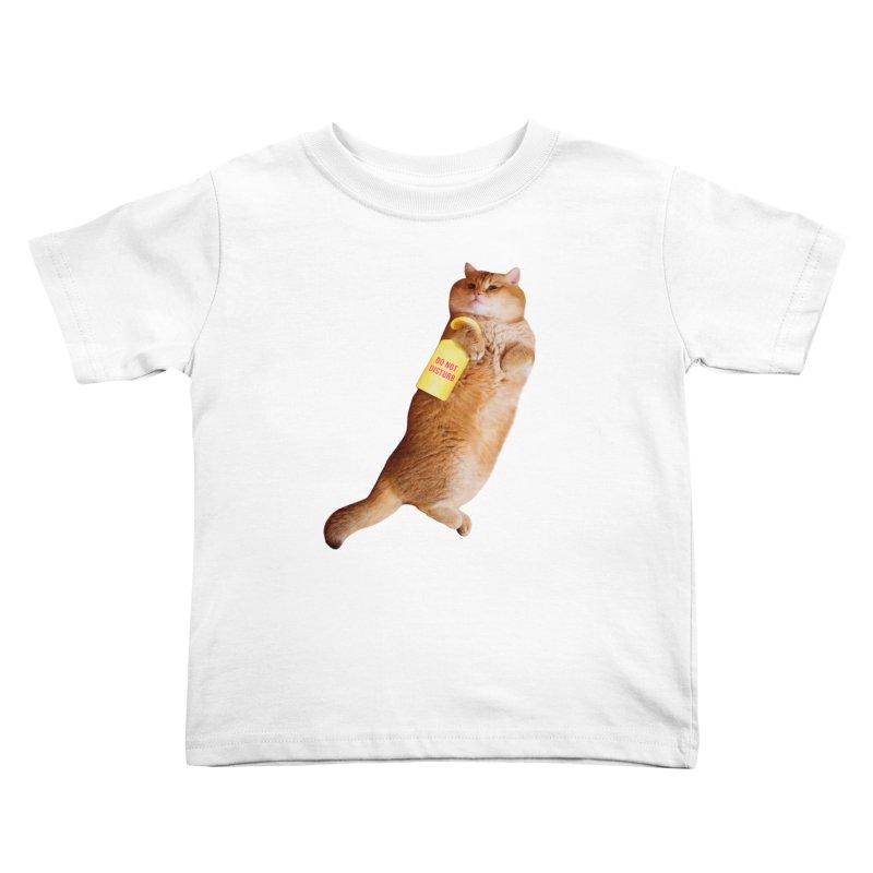 Do not disturb Kids Toddler T-Shirt by Hosico's Shop