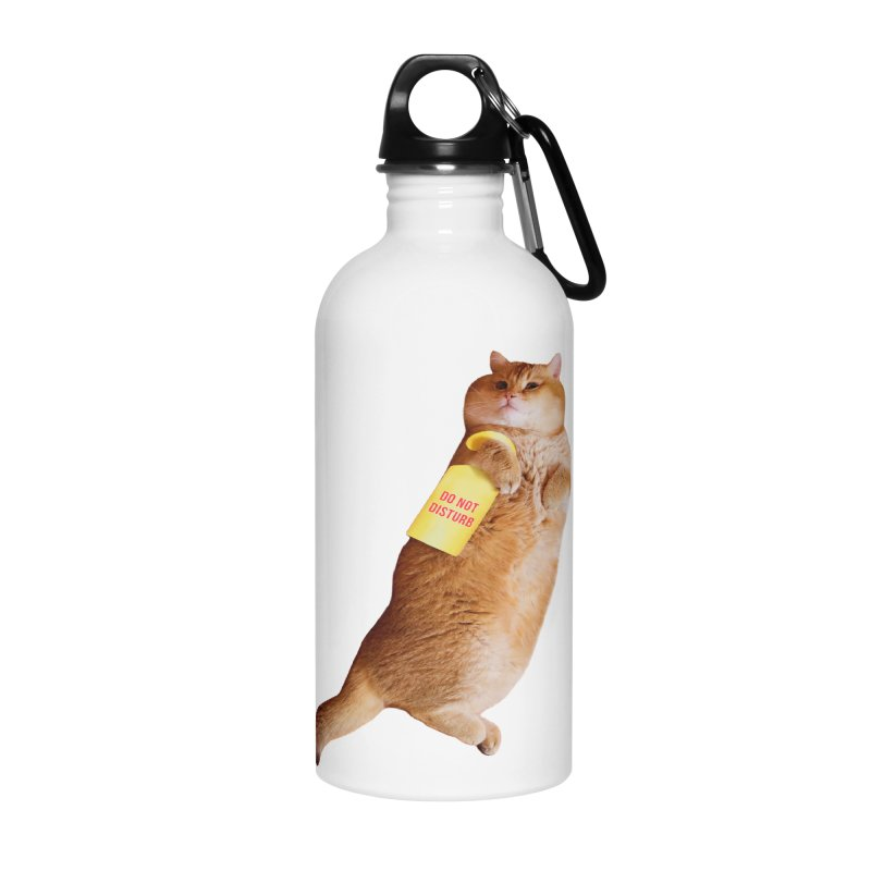 Do not disturb Accessories Water Bottle by Hosico's Shop