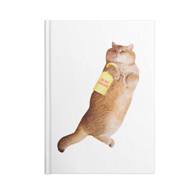 Do not disturb Accessories Notebook by Hosico's Shop