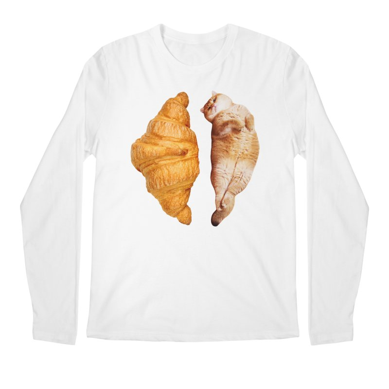 Croissant Men's Longsleeve T-Shirt by Hosico's Shop
