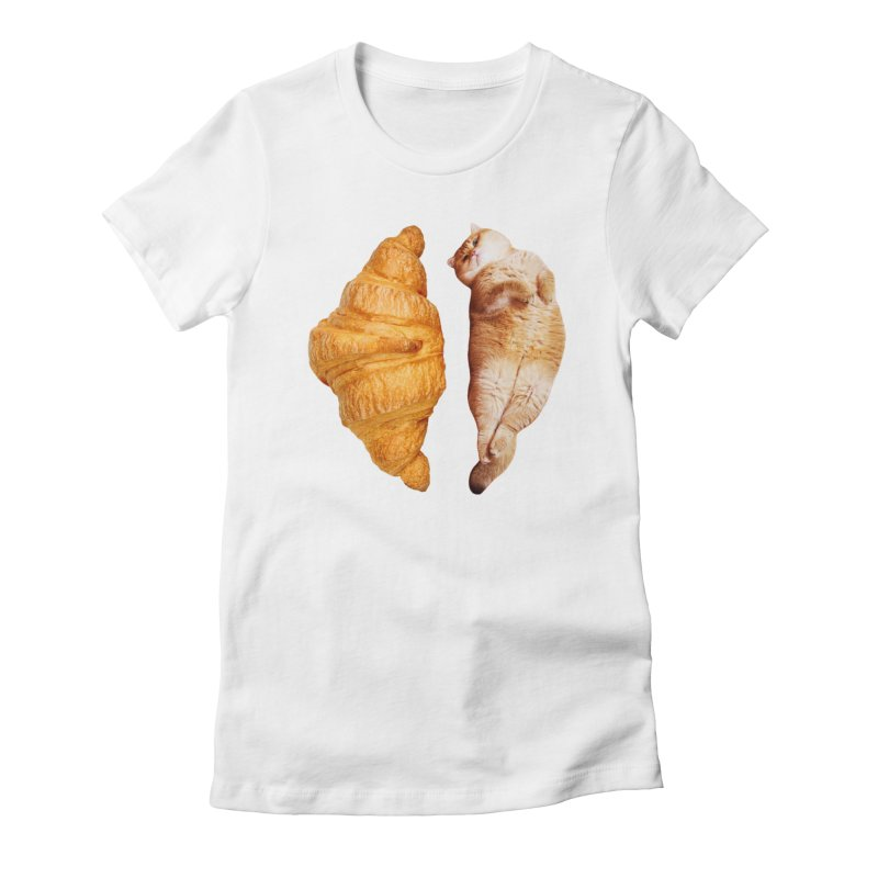 Croissant Women's T-Shirt by Hosico's Shop