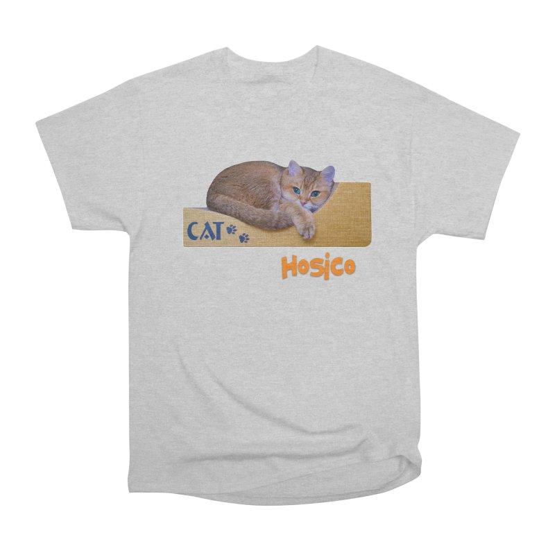 Here I Am - Hosico Women's Heavyweight Unisex T-Shirt by Hosico's Shop