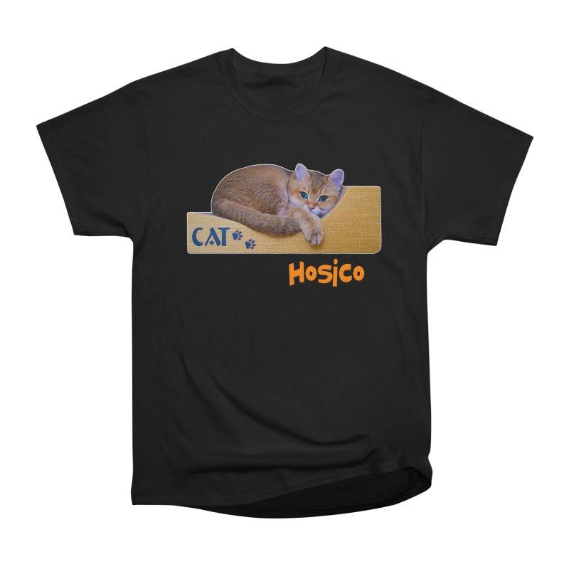 Here I Am - Hosico Men's Heavyweight T-Shirt by Hosico's Shop