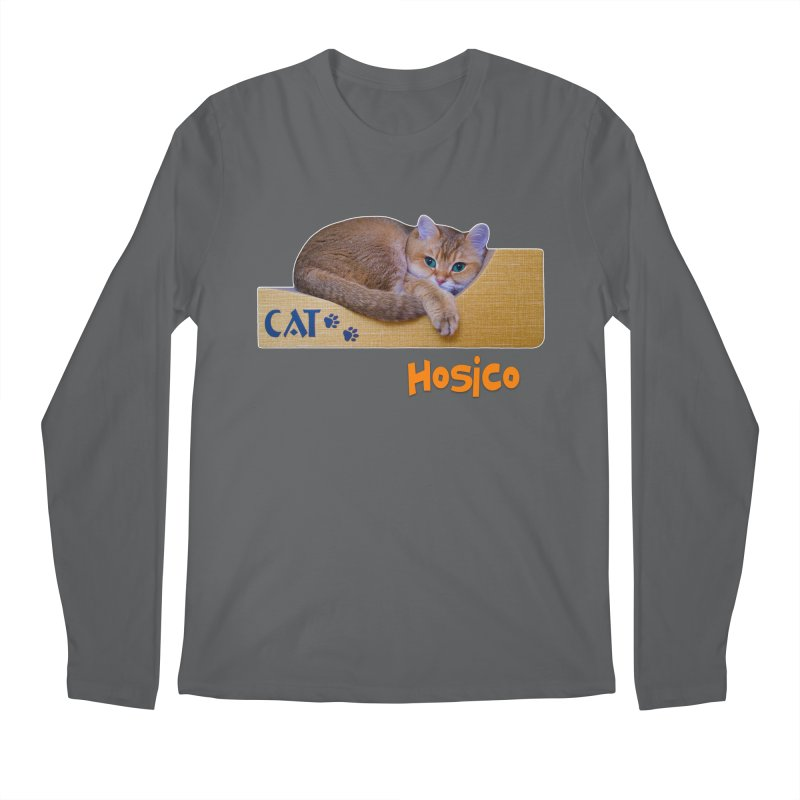 Here I Am - Hosico Men's Longsleeve T-Shirt by Hosico's Shop