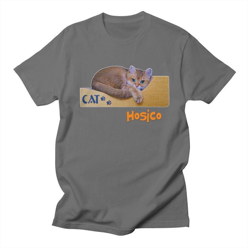 Here I Am - Hosico Men's T-Shirt by Hosico's Shop