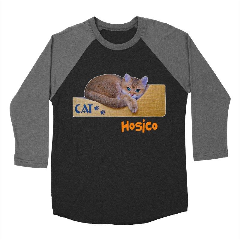 Here I Am - Hosico Men's Baseball Triblend T-Shirt by Hosico's Shop