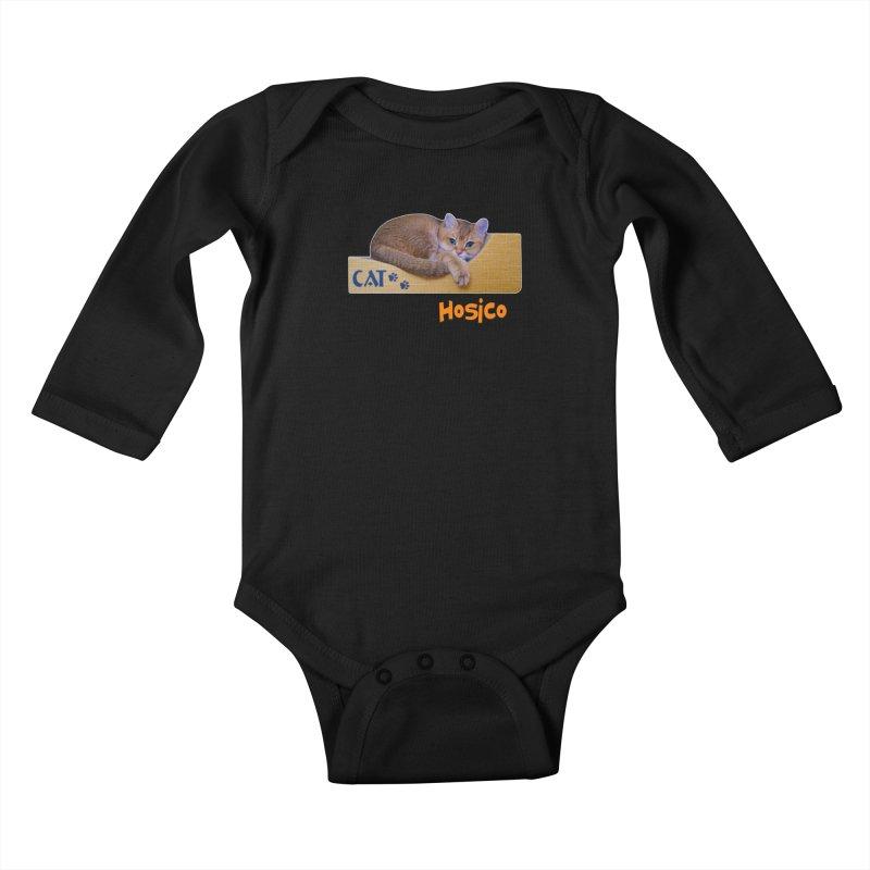 Here I Am - Hosico Kids Baby Longsleeve Bodysuit by Hosico's Shop