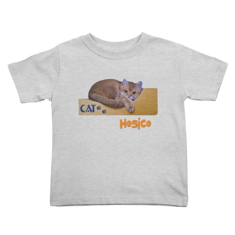 Here I Am - Hosico Kids Toddler T-Shirt by Hosico's Shop