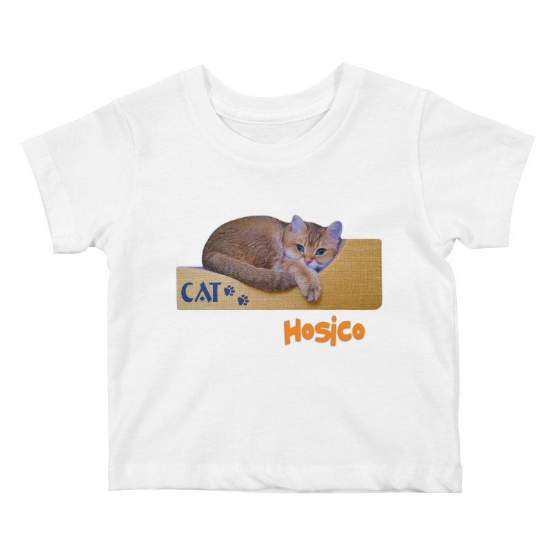 Here I Am - Hosico Kids Baby T-Shirt by Hosico's Shop