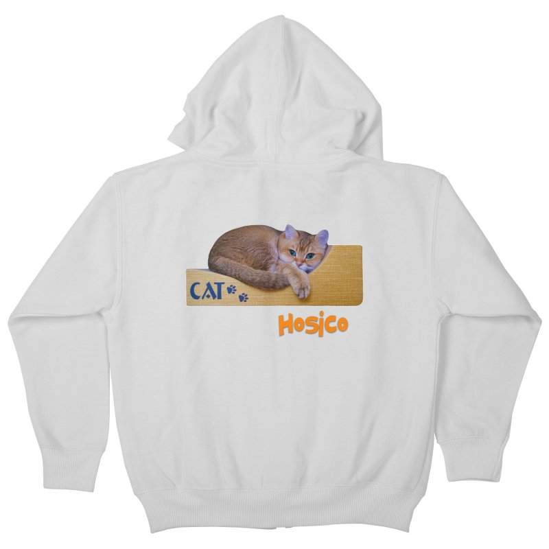 Here I Am - Hosico Kids Zip-Up Hoody by Hosico's Shop
