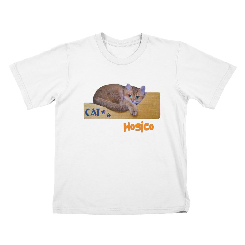 Here I Am - Hosico Kids T-Shirt by Hosico's Shop