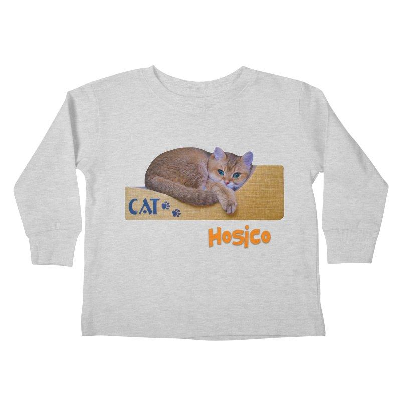 Here I Am - Hosico Kids Toddler Longsleeve T-Shirt by Hosico's Shop
