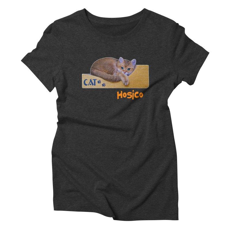 Here I Am - Hosico Women's Triblend T-Shirt by Hosico's Shop