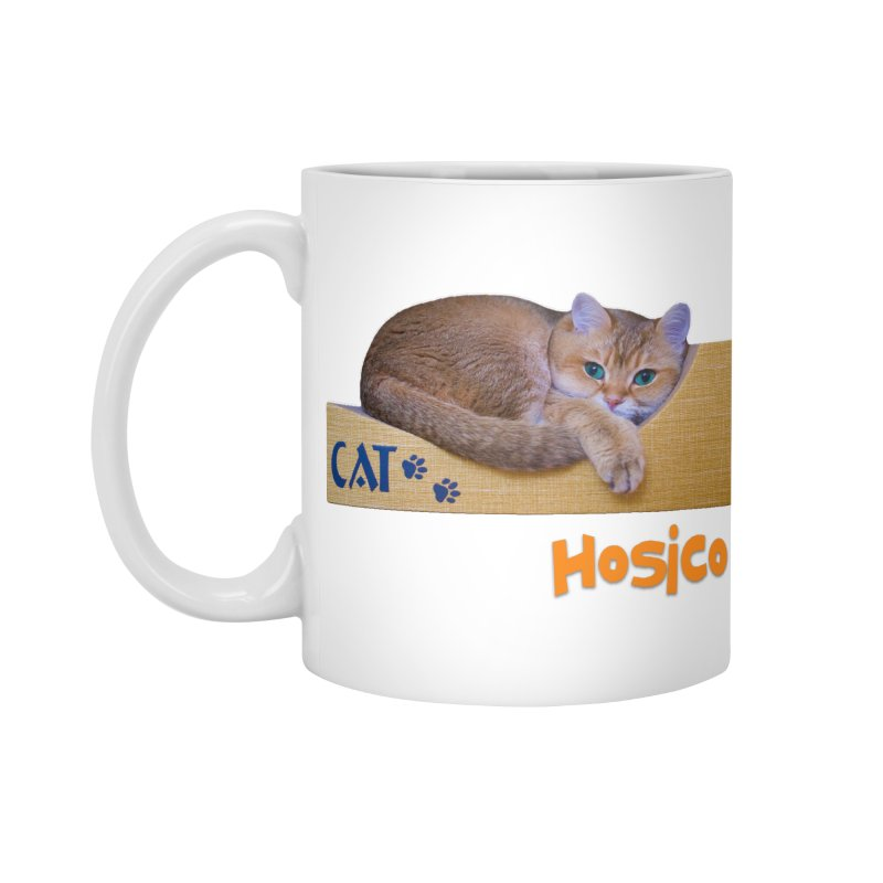 Here I Am - Hosico Accessories Mug by Hosico's Shop