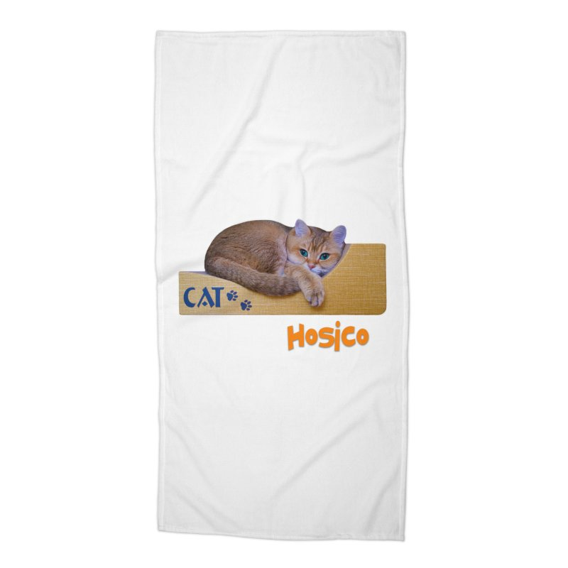 Here I Am - Hosico Accessories Beach Towel by Hosico's Shop