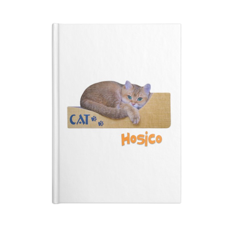 Here I Am - Hosico Accessories Notebook by Hosico's Shop