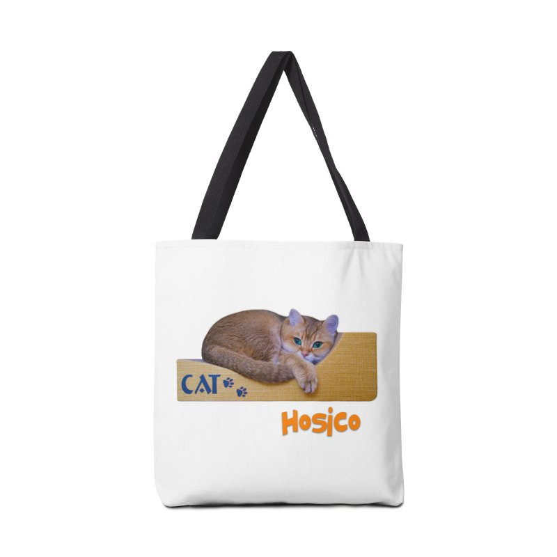 Here I Am - Hosico Accessories Bag by Hosico's Shop
