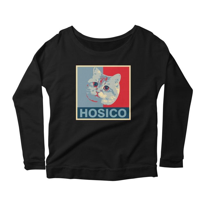 HOSICO Women's Scoop Neck Longsleeve T-Shirt by Hosico's Shop
