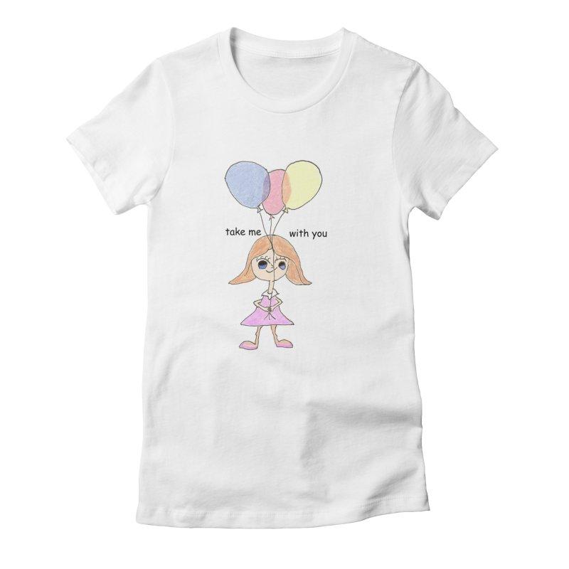 Balloons Women's T-Shirt by hotday's Artist Shop